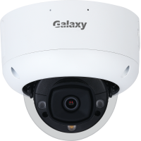 Galaxy Hunter 5MP AI Active Deterrence Fixed Lens IR Dome IPC with Color247 Full Color and Microphone Build-in / Mask Detection