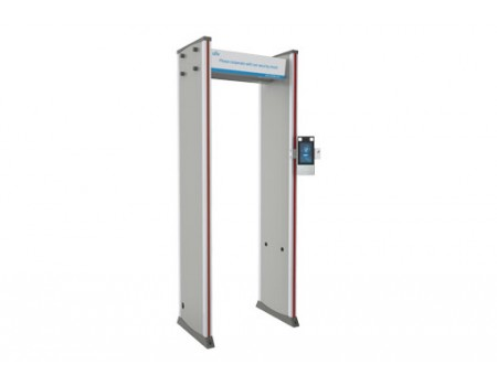 UNV Walk-through Security Gate With Metal Detection And Temperature Measurement