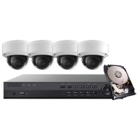Platinum Series 4K IP Turret Kit
