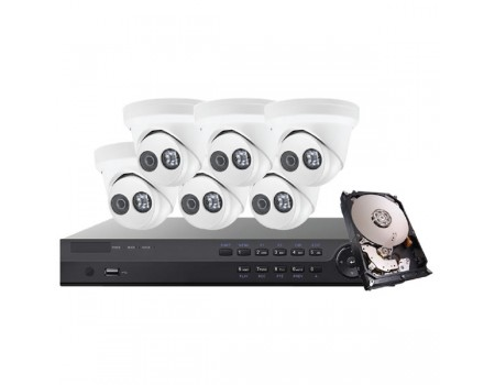 Platinum Series 4MP IP Mini Dome Kit