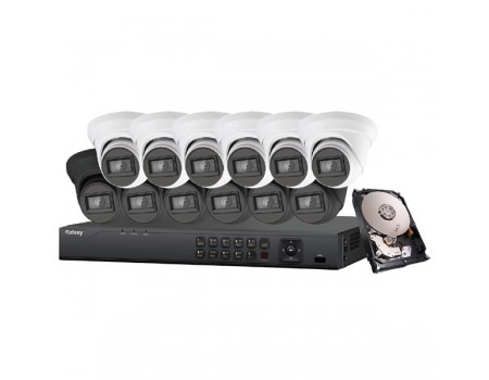 Galaxy Platinum Series 4K 5-in-1 HD Analog Turret Kit