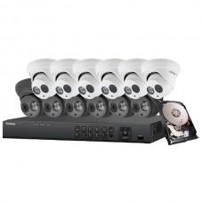 Galaxy Platinum Series 2MP 5-in-1 HD Analog Turret Kit