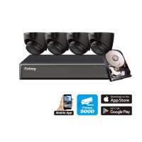 Galaxy Hunter 4 Channel 4K AI IP Kit