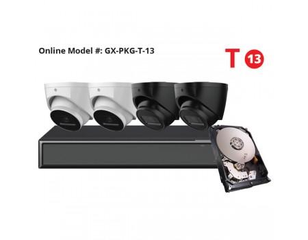 Galaxy Hunter Series 4K Starlight IP Turret Kit – White Label