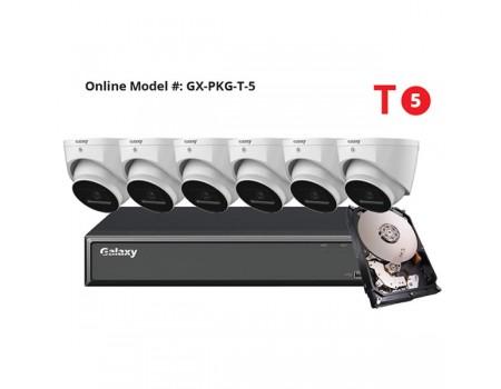 Galaxy Hunter Series 5MP Starlight IP Turret Kit - New