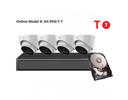 Galaxy Hunter Series 4MP Starlight IP Turret Kit - New