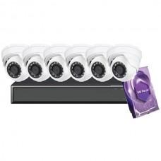 8CH Galaxy Hunter Series 5MP IP Eyeball Kit