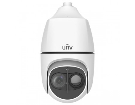 Uniview 4MP Thermal & Optical Dual-spectrum Starlight Intelligent PTZ Dome Camer