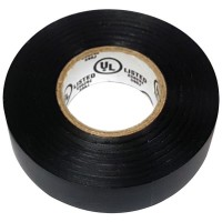 NSI Industries WarriorWrap General Electrical Tape - 60ft x 3/4in x 0.007in, Black