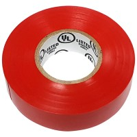 NSI Industries WarriorWrap General Electrical Tape - 60ft x 3/4in x 0.007in, Red