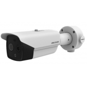 Hikvision 6.2mm fixed lens thermographic bullet body temperature measurement camera