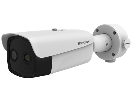 Hikvision 15mm fixed lens thermographic bullet body temperature measurement camera