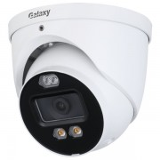 Galaxy 5mp 4in1 Full Color Active Deterrence Fixed Turret Camera