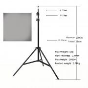 Support de trépied en aluminium de 200 cm pour K3 / K9