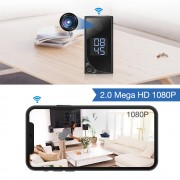Galaxy SECRETEYES 2MP Wifi Clock Camera