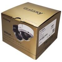 Galaxy Hunter Series 4MP Lite AI Starlight IR Fixed Dome IP Camera - 2.8mm