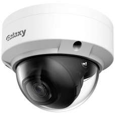 Galaxy Hunter Series 4MP Lite AI Starlight IR Fixed Dome IP Camera - 3.6mm