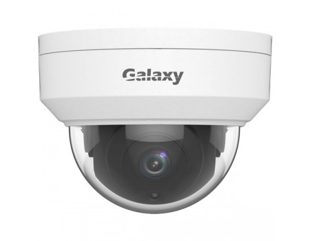 Galaxy Elite 4K Vandal-resistant Network IR Fixed Dome Camera