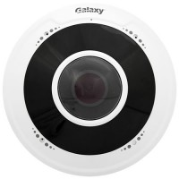 Galaxy Pro Series 4MP Fisheye 180° Panoramic Camera - 1.6mm