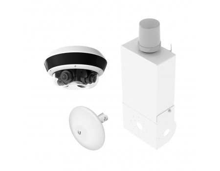 Wireless Video Station With 20MP Multi-Lens Vari-Focal IP Camera
