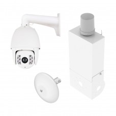 Wireless Video Station With 2MP Smart Tracking IP PTZ Camera