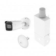 Wireless Video Station With 4K Vari-Focal Bullet IP Camera
