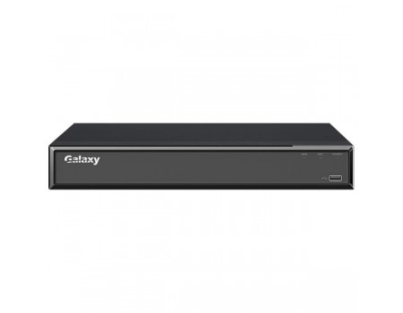 Galaxy Hunter Series 4CH 4K H.265 Compact 1U NVR w/ 4PoE