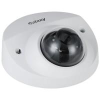 Galaxy Hunter Series 4MP Lite AI Starlight IR Fixed Wedge Dome IP Camera - 2.8mm