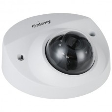 Galaxy Hunter Series 4MP Lite AI Starlight IR Fixed Wedge Dome IP Camera - 2.8mm