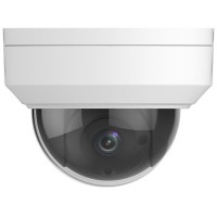4MP WDR Vandal-resistant IR Fixed Dome IP Camera - 2.8mm