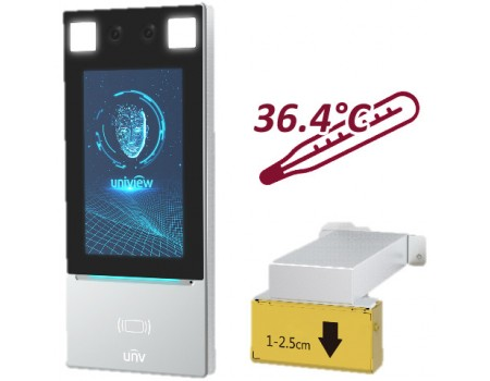 Face Recognition Access Control Terminal with Digital Detection Module - Floor Mount Optional