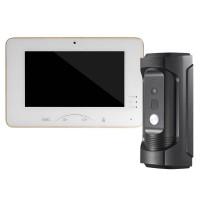 Galaxy IP Video Intercom KIT - Water Proof Vandal-Resistant Door Station +  7-inch Touch Screen Indoor Station