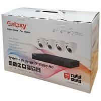 Galaxy 2MP 4CH HD-TVI Kit