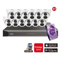 5MP Galaxy HD TVI Kit