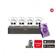 4MP Galaxy HD TVI Kit - 4 ch