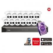 4MP Galaxy HD TVI Kit