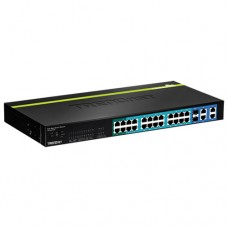 TRENDnet 24-Port 10/100 Mbps Web Smart PoE+ Switch