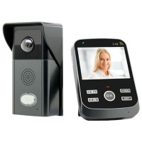 Wireless Day&Night Video Door Phone Intercom System