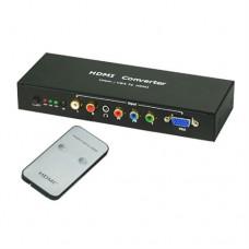 VGA/YPbPr to HDMI Converter