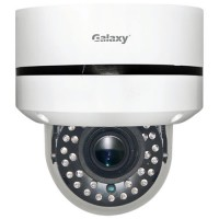 Galaxy 2MP 4-in-1 IR Motorized VF Lens Dome Camera - 2.8~12mm