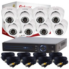 Galaxy 8CH HD 1080P Indoor/Outdoor Package