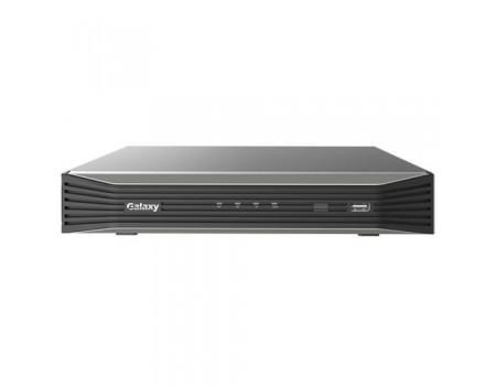 Galaxy Pro Series 4CH 4K Mini 1U NVR w/ 4PoE Ultra HD NVR