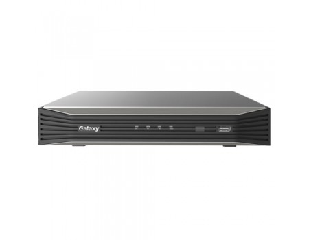 Galaxy Pro Series 8CH 4K Mini 1U NVR avec 8PoE Ultra HD NVR