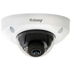 Galaxy Pro Series 4MP IR Wedge Dome Camera - 2.8mm