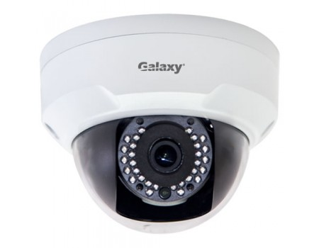 Galaxy Pro Series 2MP IR Mini Dome Camera - 2.8mm