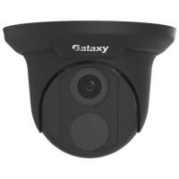Galaxy Pro Series 4MP IR Turret Camera - 2.8mm Black