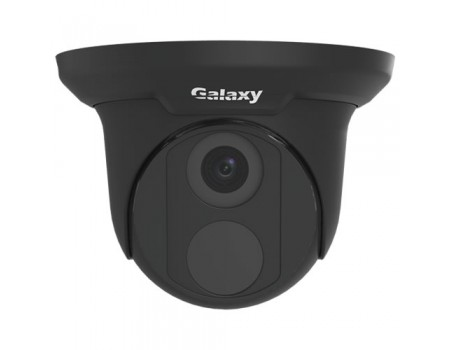 Galaxy Pro Series 4MP IR Turret Camera - 2.8mm Black