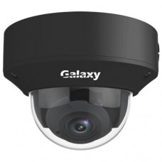 Galaxy Pro Series 4MP VF IR Dome Camera - 2.8~12mm Black