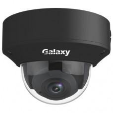 Galaxy Pro Series 4MP VF IR Dome Camera - 2.8~12mm Black