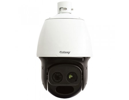 Galaxy Pro Series 2MP 33x Starlight Laser IR PTZ Dome Camera (w/PoE) - 4.5~148.5mm